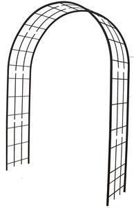 Arche double de jardin avec