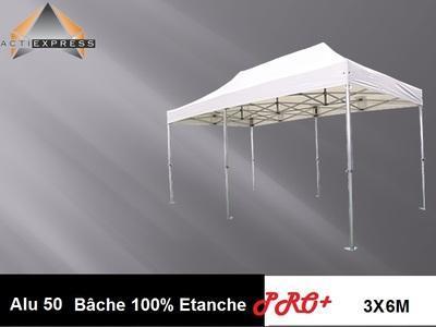 Tente pliante 3x6 structure