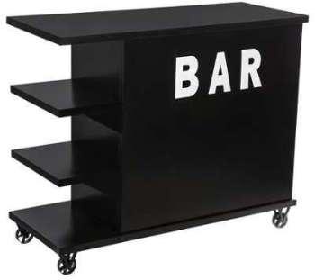 Bar à roulettes industriel