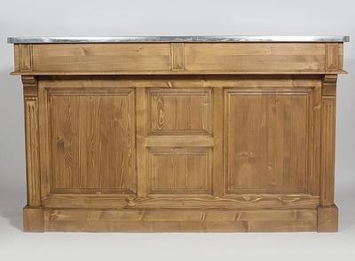 Bar en bois 160cm - plateau