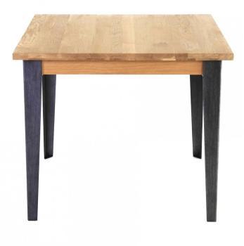 Table de bar carrée chêne
