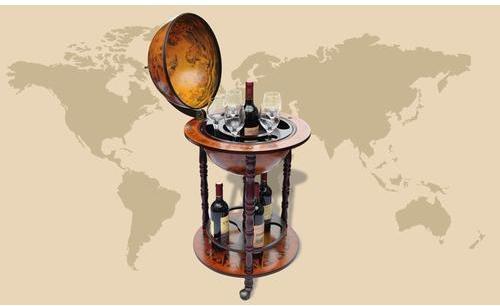 VidaXL Bar Globe Terrestre