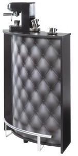 Meuble Comptoir Bar Noir Imprimé