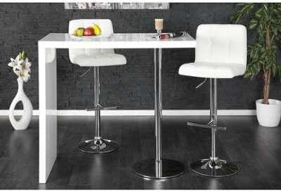 Table haute de bar en bois