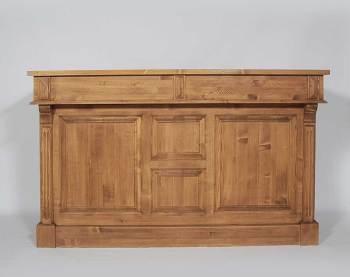 Meuble bar en bois 180cm