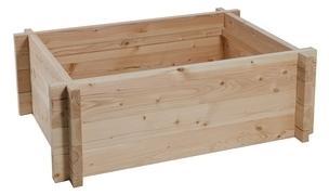 Tour en bois potager bassin