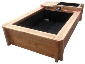 Kit bassin de terrasse bois