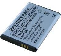 Batterie pour SAMSUNG SGH-E500
