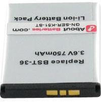 Batterie type SONY ERICSSON