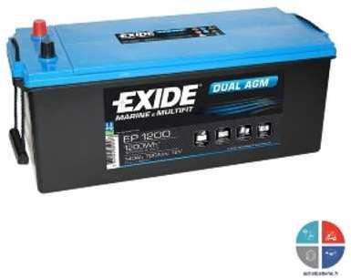 Batterie Exide EP1200 12v