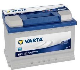 Batterie auto E11 12V 74ah