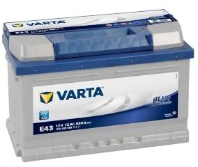 Batterie auto E43 12V 72ah