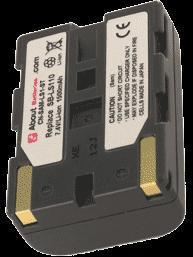 Batterie pour SAMSUNG VP-L850D