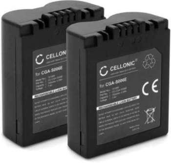 2x Batterie Panasonic CGA-S006A