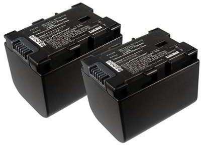 2x Batterie JVC GZ-EX215 -
