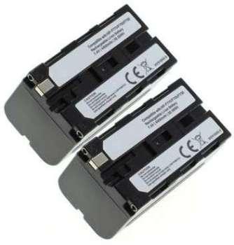 2x Batterie Sony DCR-VX2100E