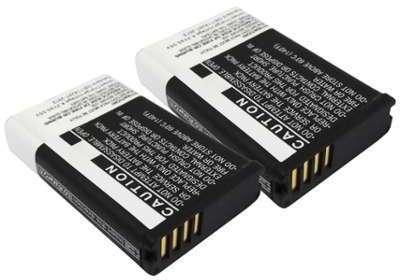 2x Batterie Garmin Virb Elite