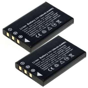 2x Batterie HP Photosmart