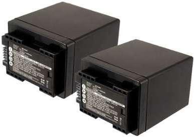 2x Batterie Canon LEGRIA HF