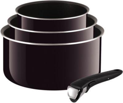 tefal csrie 3 casseroles ingenio 5 ptfe 16 18 20 cm. Black Bedroom Furniture Sets. Home Design Ideas