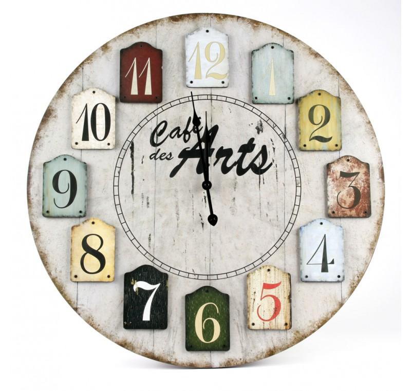 Horloge Murale Vintage CAFE