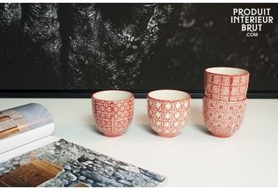4 tasses à café Kennedy