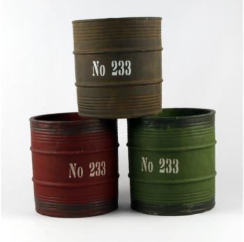 Pot Tonneau Vintage FACTORY