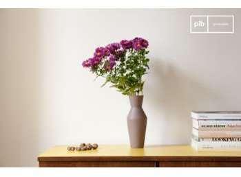 Vase en céramique Corset coloris