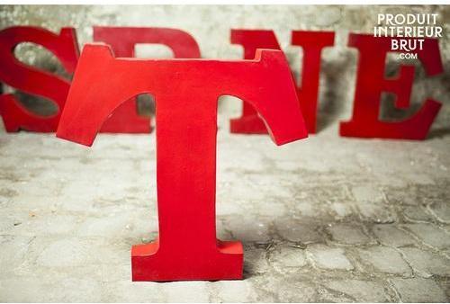 Lettre decorative T