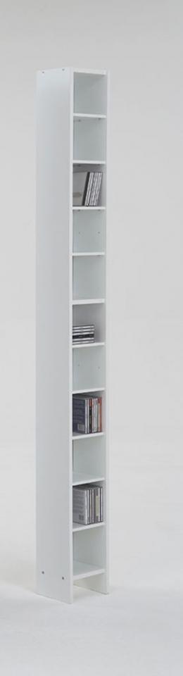 Etagère range CD DVD 11 niches