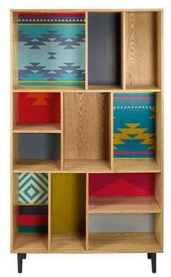 Bibliothèque motifs colorés