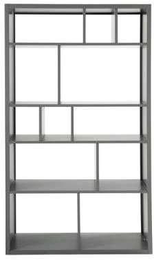 Bibliothèque gris L100 Tonic