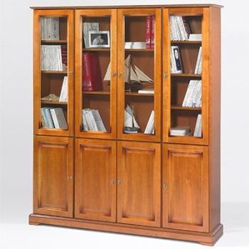 Bibliothèque Merisier Louis
