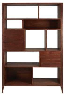 Bibliothèque 1 porte 2 tiroirs