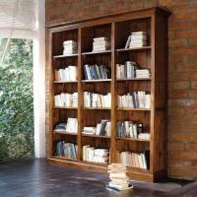 Bibliothèque en teck massif