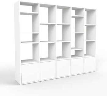 Bibliothèque Murale blanc
