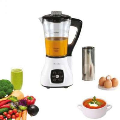 Blender chauffant multifonctions dop140w domoclip for Robot de cuisine multifonction chauffant