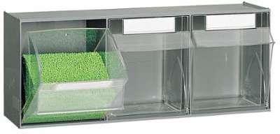 Bloc 3 tiroirs plastiques