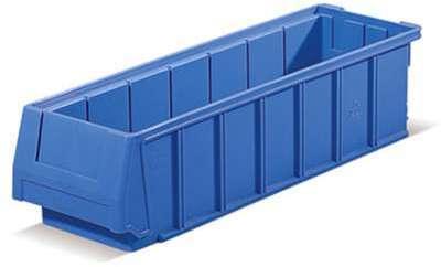Bac tiroir plastique bleu