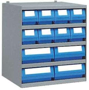 Casier 8 bacs tiroirs plastique