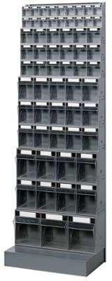 Bloc tiroir avec 62 tiroirs