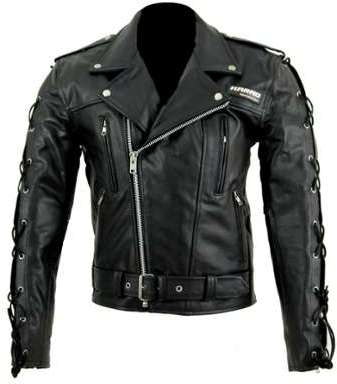 Kc020 BLOUSON cuir noir PERFECTO