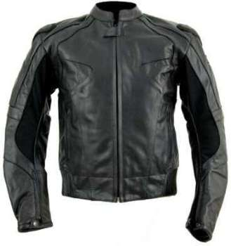 Kc013 Blouson cuir moto VIntage