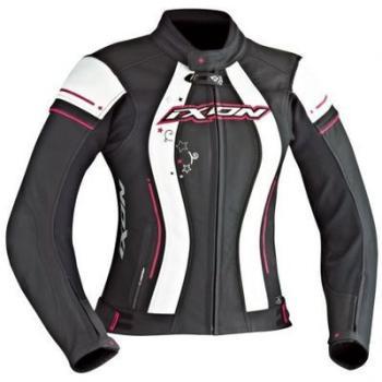Blouson moto cuir Femme Ixon