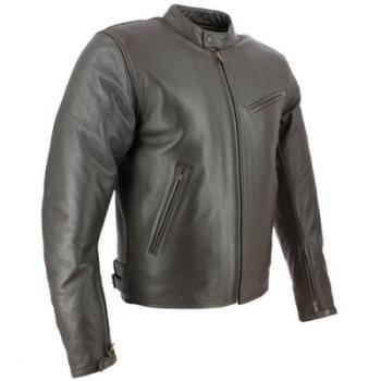 Blouson cuir moto Soubirac