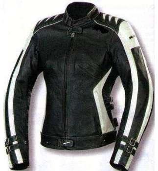 Kc015 Blouson moto FEMME cuir