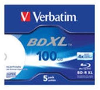 Verbatim - BD-R XL x 5 - 100