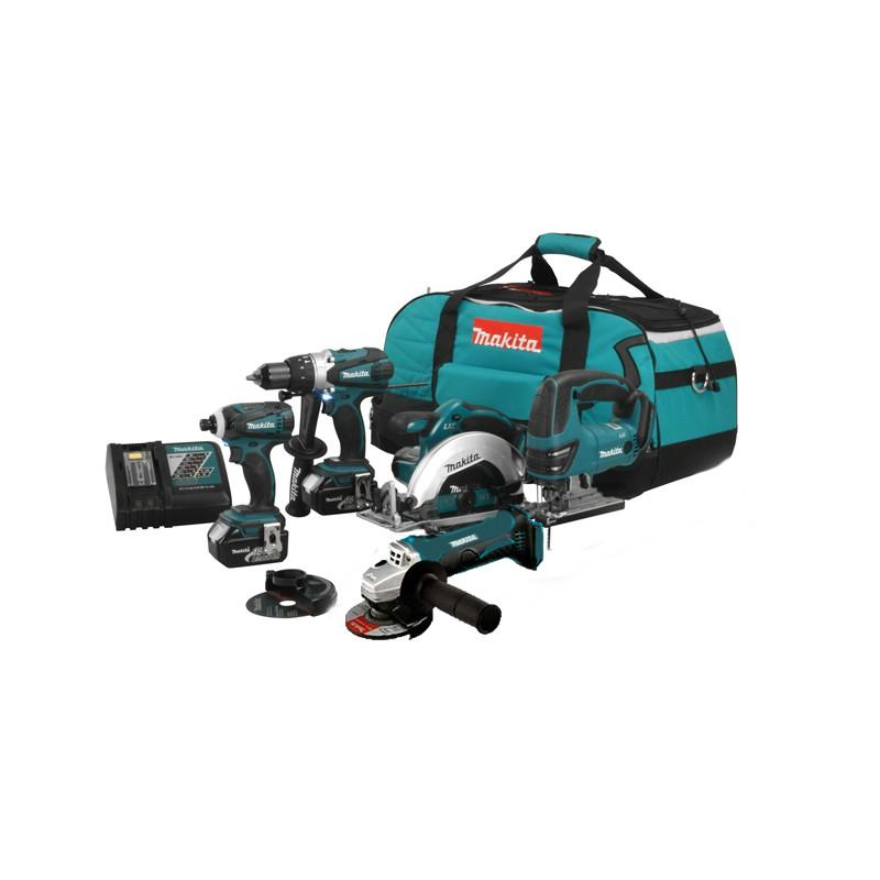 PACK 5 OUTILS MAKITA DLX500T