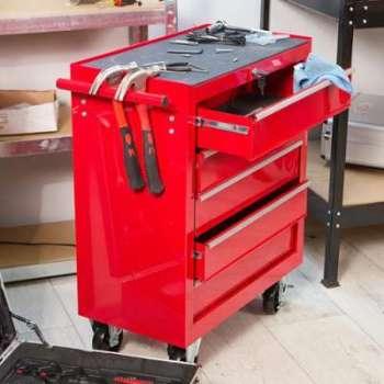 Chariot à outils avec 5 tiroirs