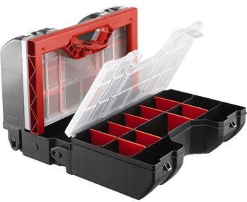 Boîte à outils avec compartiments
